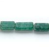 *Kivi Special* Kaunis, harvinainen aventuriini, kuvassa #G33, nelikulmainen siro putkihelmi, noin 7x4-10x6mm, noin 32 cm nauha, OVH 9.85