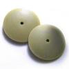Kiillotuslaikka kaikille metalleille, hohkakivipitoinen silikoni, hienokarkea (vihreä/valkoinen), reuna kiilamainen, 22mm, 2kpl (ilman vartta)