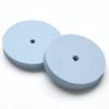 Kiillotuslaikka kaikille metalleille, hohkakivipitoinen silikoni, superhieno (sininen), reuna suorakulmainen, halkaisija 22mm, 2kpl (ilman vartta)