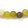 *Kivi Special* Kaunis kivihelmi, Serpentiini, kuvassa #G18, pyöreä helmi, noin 6-7mm, noin 37cm nauha, OVH 5.95