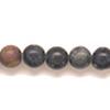 *Kivi Special* Kaunis kivihelmi, Serpentiini, kuvassa #G23, pyöreä, noin 6mm, noin 37cm nauha, OVH 5.95