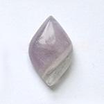 *Kivi Special* Ametisti, pyöröhiottu kapussi, markiisi noin 15x9.5mm, kuvassa #T36, uniikki korukivi, 1 kpl