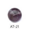 *Kivi Special* Ametisti, pyöröhiottu kapussi, pyöreä, kuvassa #AT21, läpimitta noin 11.5mm, paksuus noin 4.7mm, uniikki yksittäiskappale, huomaa kiderakenne