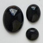 *Kapussi Mix* 'Musta Akaatti' kuin kuvassa #407, väri musta/tumman ruskea (värjätty) 3kpl, pyöreä noin 7mm, soikea noin 10x8mm, ja soikea noin 15x11mm