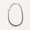 *Mallikappale -poistuva malli* Korvakoukku, Sterling hopea 925, design -suljettava malli, kuvassa #P44, 1 pari, OVH 4.95