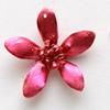 *Mallikappale-Poistoale* Orkidea -aito kukka joka on kovetettu hartsiin, koko noin 30mm, 1 kpl