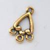 *Mallikappale-Poistoale* Koruosa/koristeosa (esim. korvakorut), kuvassa #917, kullattua tinaa, 2 kpl setti, OVH 5.65