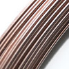 Juotoslanka, kuparijuote, hyvä väriyhteensopivuus, 93% kuparia, paksuus 1mm, 25 cm