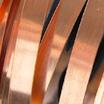 Kupari, nauha, levys noin 12.5mm, paksuus 0.5mm, 50cm