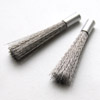 Harja, kynämalli, vaihtoharjakset terästä, 1kpl, valmistettu Saksassa