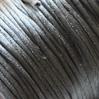 Lanka, satiinia, harmaa, 1mm, 10m, helmitöihin, kumihimoketjuihin jne.