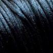 *Tarjous* Satiinilanka, Musta, 2mm, TUKKUPAKKAUS, 20m kela, helmitöihin, kumihimoketjuihin jne.