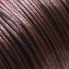 *Siivousmyynti -huom mitta* Lanka, satiinia, Tumma ruskea, 1mm, 3.9m, helmitöihin, kumihimoketjuihin jne.