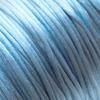 Lanka, satiinia, Farkkukankaan sininen, 1mm, TUKKUPAKKAUS noin 50m rulla, helmitöihin, kumihimoketjuihin jne.