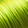 *Muuttoale* Lanka, satiinia, Limen vihreä, 1mm, TUKKUPAKKAUS 24m rulla, helmitöihin, kumihimoketjuihin jne.