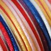 Lanka, satiinia, Värikäs -sävy, 2mm, 5m (1x5m pussi), helmitöihin, kumihimoketjuihin jne.
