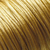 *Siivousmyynti -huom kaksi väriä* Lanka, satiinia, setti: messingin keltainen 2.5m + musta 2.5m (yhteensä 5m)