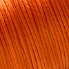 Lanka, satiinia, Oranssi, 1mm, TUKKUPAKKAUS noin 50m rulla, helmitöihin, kumihimoketjuihin jne.