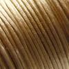 *Muuttoale* Lanka, satiinia, Vaalean ruskea, 1mm, 4m, helmitöihin, kumihimoketjuihin jne.