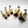 Leikkuri, irrotuspainike: Kolmio, 5kpl setti, noin 10-25mm (OVH 14,35)
