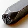 *Tarjous* Leimasin, punsseli *KORENTO*, 6x5 mm, laadukasta karkaistua terästä, pituus noin 7cm, 1 kpl
