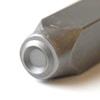 Leimasin, punsseli, 'O', leveys 5x5 mm, laadukasta karkaistua terästä, pituus noin 7cm, 1 kpl