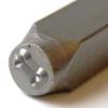 Leimasin, punsseli 'KOIRANLUU', leveys 5x5 mm, laadukasta karkaistua terästä, pituus noin 7cm, 1 kpl
