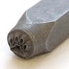 Leimasin, punsseli *KOIRAN TASSU*, leveys 5x5 mm, laadukasta karkaistua terästä, pituus noin 7cm, 1 kpl