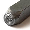 Leimasin, punsseli *KUKKA*, leveys 5x5 mm, laadukasta karkaistua terästä, pituus noin 7cm, 1 kpl