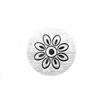 Leimasin, punsseli *KUKKA*, leveys 6 mm, laadukasta karkaistua terästä, pituus noin 6.5cm, 1 kpl