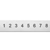 *Uutuus* Leimasin, punsselisetti, 'Basic San Serif´ numerot 0-8 (6=9), leveys 1.5mm