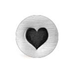 *Uutuus* Leimasin, punsseli *SYDÄN*, leveys 6 mm, laadukasta karkaistua terästä, pituus noin 6.5cm, 1 kpl