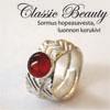 S-työohje, 'Classic Beauty'  sormus