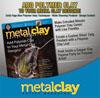 """*Poistomyynti* Lehti: Metal Clay Artist Magazine (Eng.) Vol 3. #1 """"Metallisavi & Polymeerimassa"""" OVH 11.85"""