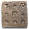 *Poistoale* Muotti, messinkiä (kova), pienikokoisia (3-5mm) koristeita: sydan, hertta, pata, risti jne, soveltuu harraste- ja askartelumassoille