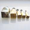 Leikkuri, irrotuspainike: Neliö, 5kpl setti, noin 9-20mm