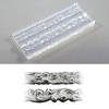 Muotti, joustavaa muovia, ACS Exclusive, 2 koristeellista profiilia, pituus 7.5cm *Vinkki: Muotilla saa tehtyä upean sormuksen*