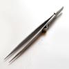 Lukkopinsetit, säädettävissä 0-10mm välille, ruostumatonta terästä, 15cm