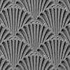 """Pintakuviointiin: Tekstuurilevy, joustavaa silikonia, 10x5cm, """"Simpukka-kuvio"""""""