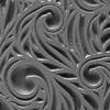 """Pintakuviointiin: Tekstuurilevy, joustavaa silikonia, 10x5cm, """"H�yhenkiehkura -kuvio"""""""