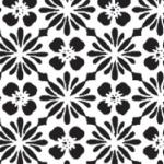 """*Erä - Syystarjous* Pintakuviointiin: Tekstuurilevy, joustavaa kumia, 14x9cm """"Kirsikan Kukka"""""""