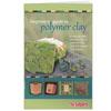 Kirja: Sculpey Aloittajan opas polymerimassojen maailmaan, 18 ohjetta korujen ja esineiden tekemiseen (A5-koko, 31 sivua)