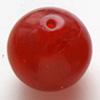 *Poistoale* Puhallettu lasihelmi, kaunis punainen, noin 25mm, 1 kpl