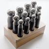 Punsselisetti, anodisoitua terästä, 12 kpl, 12mm-25mm