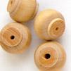 *Poistoale-rajoitettu erä* ´designerhelmiä, KUVAN #PH3, Laadukas sorvattu puuhelmi, pehmeä ja sileä tuntuma, noin 15mm, 5kpl pussi