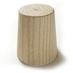 *Uutuus* Rannekapula, puuta, lyhyt malli, pituus 10cm, paksuus 55-75mm, käytetään kun valmistat rannekoruja.