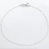 Ranneketju, hopea 925, tyylik�s siro design, paksuus n. 1.2mm, pituus 17,5cm (aikuisen mitta), vieterilukko