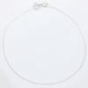 Ranneketju, hopea 925, tyylikäs siro design, paksuus n. 1mm, pituus 17,5cm (aikuisen mitta), vieterilukko