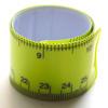 Rannekorumitta, nilkkakorumitta, muovipinnoitettua terästä, pituus 25cm, leveys 2.5cm