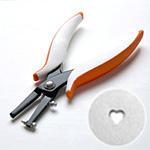 Reikäpihdit, SYDÄN, koko 2.0mm, sopii 1.0mm paksuille pehmeille metallilevyille